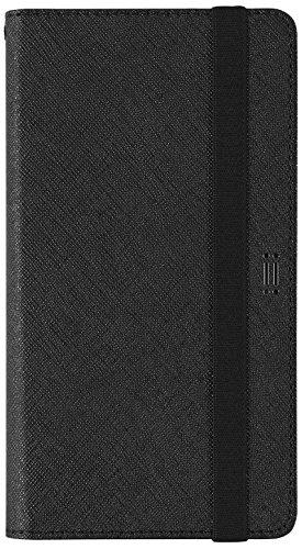 Aiino Daily Smart Universal Schutzhülle Handyhülle Schale Cover für Smartphone bis zu 5,8 Zoll - Schwarz/Schwarz
