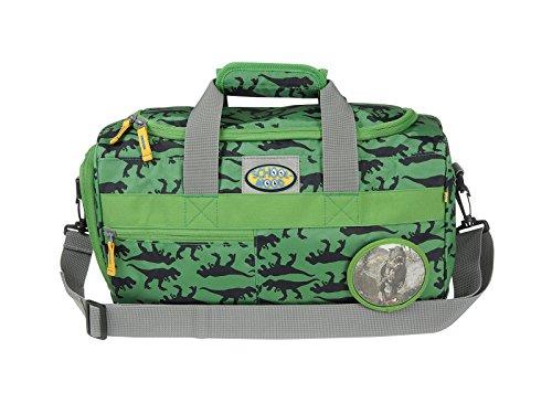 Kinder-Sporttasche von School-Mood mit 12 Faber Farbstiften - versch. Farben (Dinos / Dino)