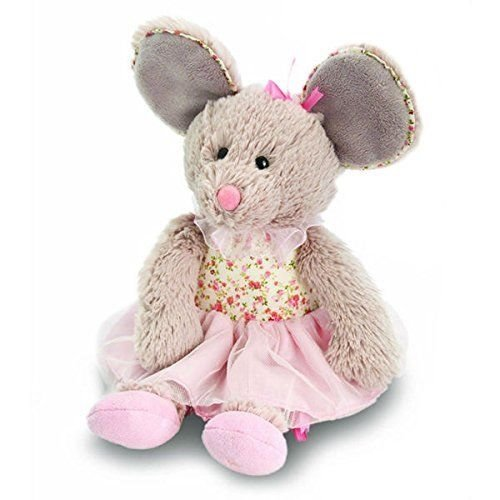 Keel Toys 20cm Belle Rose Ballerina Mouse (Belle Ballerinas)