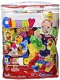 Clementoni - Clemmy Plus Bolsa con 48 bloques (17136.8)