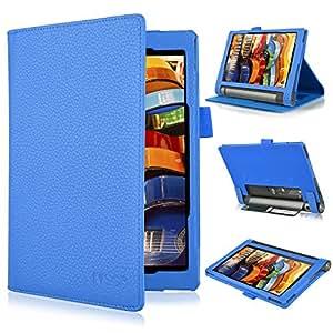 new concept ad0b7 f797c Lenovo YOGA Tab 3 8-Flip Case IVSO Slim Folio Book Case Cover Lenovo YOGA  Tab 3 8-Tablet Ca