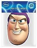Toy Story Buzz l'éclair–Masque en carton brillant haute qualité en carton avec trous pour les yeux et élastique 30x 20CM