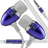 Lenovo A6600 (PÚRPURA) RIVERO manos libres estéreo con cable auriculares manos libres auriculares con micrófono En del botón y conector de 3,5 mm earphone