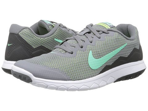 Nike , Damen Laufschuhe Grau Cl Gry/Grn GLW/Anthrct/Ghst Gr
