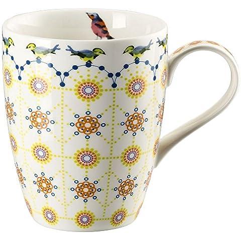 hutschreuter 02471–725736–15505taza con asa porcelana 30x 20x 11,5cm), multicolor
