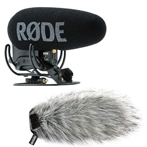 Rode Videomic Pro Plus WS03 - Microfono con protezione antivento in pelliccia Keepdrum