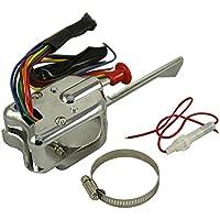 Riser Lenker 28mm 22mm Lenker Motorrad Schwarz 2 × CNC Halterung Lenkung Riser