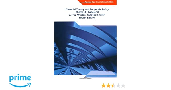Financial Theory And Corporate Policy 4th Edition Pdf