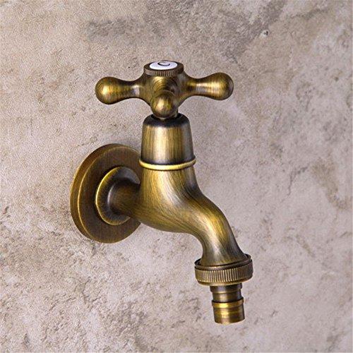 Qinlei Badezimmer-Accessoires QINLEI europäische antike sanitären einrichtungen waschmaschine armaturen bronze drahtzieherei hochwertige wasserhahn mop - pool