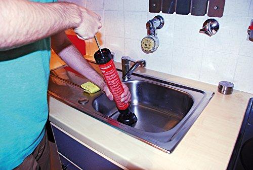 Rothenberger IndustrialSaugdruckreiniger RoPump, Abflussreiniger zum Beseitigen von Rohrverstopfungen im Bad und WC. - 5