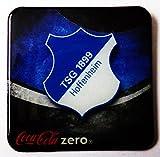 Coca Cola Zero - Fußballvereine - TSG 1899 Hoffenheim - Kühlschrankmagnet 6 x 6 cm