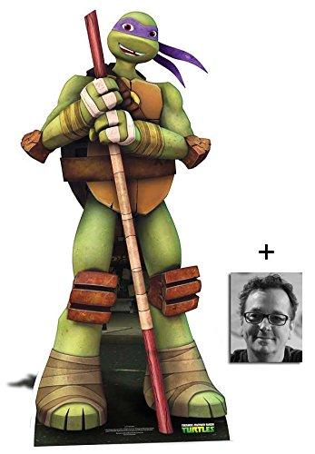 tant Ninja Turtles Lebensgrosse Pappfiguren / Stehplatzinhaber / Aufsteller - Nickelodeon Series - Enthält 8X10 (25X20Cm) starfoto ()