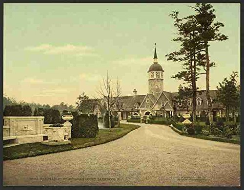 Photo The stables at Georgian Court Lakewood NJ A4 10x8 Poster Print -