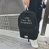 XSBB Korean Campus Leinwand Tasche, männliche Mode-Trend, Junger Student, Japan Korea Institut für Persönlichkeit, Wind Umhängetasche, Rucksack, Coke Cup