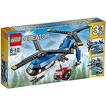 Lego 31049 - Creator - Jeu de Construction - L'hélicoptère à Double Rotor