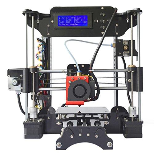 Blackpoolal stampante 3d xy stampante 3d bausatz completo regolabile realizzato set di precisione professionale lcd hd 3d printer kit stampa dimensioni 120 * 140 * 130 mm