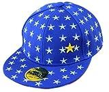 THENICE Kind Hip-Hop Sterne Cap Baseball Kappe Hut (Venus blau)