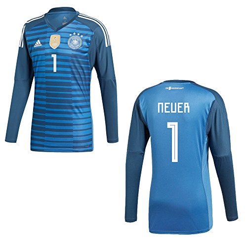 DFB Alemania Camiseta Home Portero Infantil WM 2018 1, 128