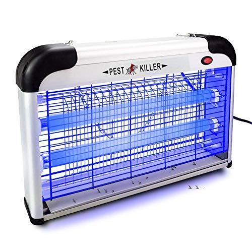 DDI Elektrische Bug Zapper/Fly Pest Catcher Lampe-Stärkste Indoor 2800 V 6000ft2 UV-Lampe, vernichtet alle Insekten Bug Schädlinge - Elektronische Schädlingsbekämpfung für den Innen- und Außenbere