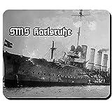 SMS Karlsruhe piccolo incrociatore tedesco Kaiser Lichen Marine WK foto immagine di aquila di mare Germania sua Maestà nave-Mouse Pad Computer Laptop PC # 12759