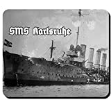 SMS Karlsruhe pequeño Kreuzer Alemana Kaiser lichen Marino WK fotográfico de repuesto Águila Alemania su Majestad Barco–Ratón Mousepad Ordenador Laptop PC # 12759