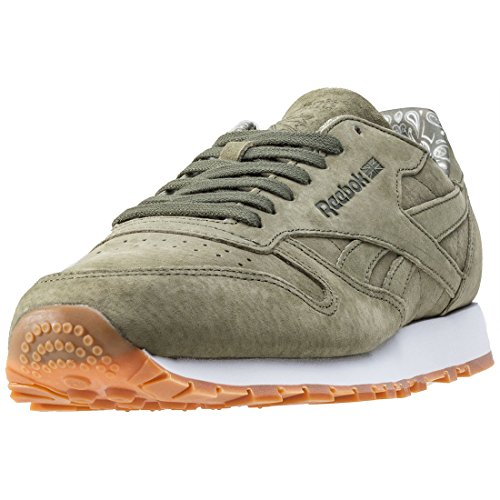 Reebok CL Leather TDC Calzado canopy green JrshQ0