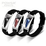 Power Ionics Bracelet Armband Powerarmband PowerIonics Ionenarmband Energie Wristband Magnet Armband 3000 Ions Smart Sports Bracelet Wristband PT057