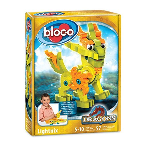 Bloco-lightnix Dragón La Luz Juego Construcción