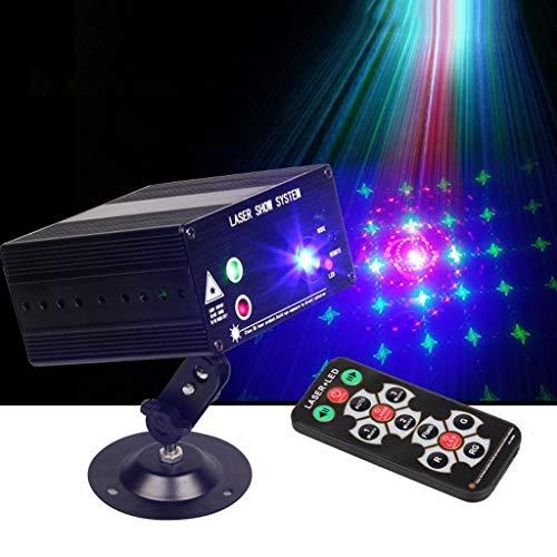 Discokugel, LED 3-Loch 48 Bild Licht 12V Strobe Licht for Bar KTV Disco Stage Disco F1 -