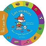 Tout carton rond Petit Lapin Blanc - Les vacances de Marie-France Floury