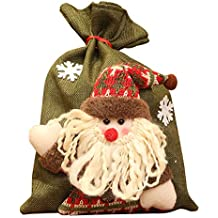 TREESTAR Adornos navideños Colgantes de árboles de Navidad Regalo Bolsa de Regalo Bolsa de Dulces de