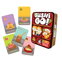 Gamewright Sushi Go - The Pick And Pass Card Game, Multicolour