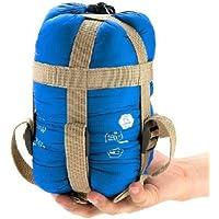 Portable Impermeable Ultraligero Envelope Saco de Dormir Bolsa de Dormir Sleeping Bag (azul de cielo