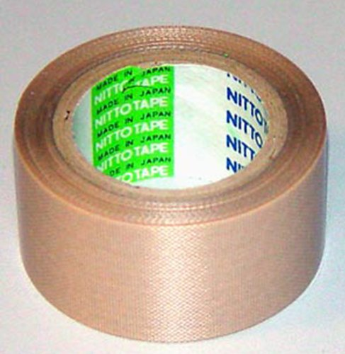 nitto-denko-tofoflon-adhesive-tape-ptfe-coated-fiberglass-fabric-with-silicone-adhesive-brown-10m