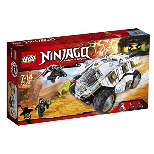 Preisvergleich Produktbild LEGO Ninjago 70588 - Titan-Ninjamobil