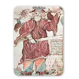 Art247 - Odin, with his two crows, Hugin (thought).. - Tapis de souris - Tapis de souris en caoutchouc naturel de qualité supérieure - Mouse Mat