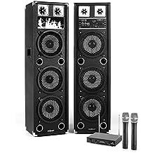 Electronic-Star STAR-238A Public Wireless karaoke system - karaoke systems (100 W, Wireless, 100 m, MicroSD (TransFlash), 50 Hz, 170 g)