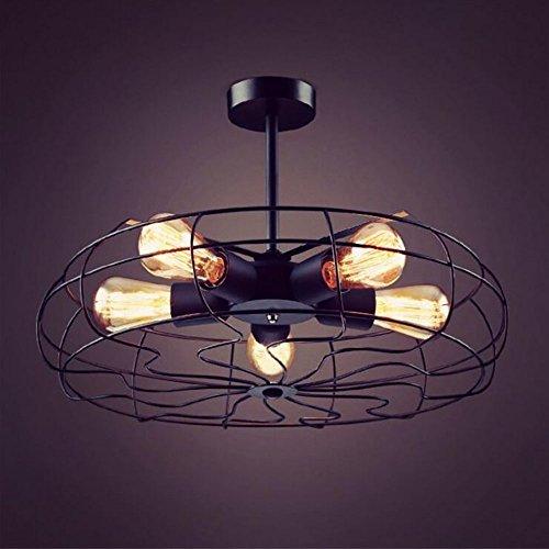 Oofay bxd lampada da soffitto lampadario ventilatore retrò soffitto americano industriale industriale ventilatore lampadario personalità creativa lampada di design
