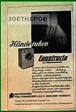 50er Jahre - Inserat / Anzeige: CONSTRUCTA WASCHMASCHINE / HÄNDE RUHEN - Grösse : ca. 70 x 110 Millimeter - alte Werbung / Originalwerbung/ Printwerbung / Anzeigenwerbung / Advertisement