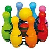 mini Bowling Set 8+2 16cm Kegelspiel Kegel Kugel Kinderbowling Kinderkegel
