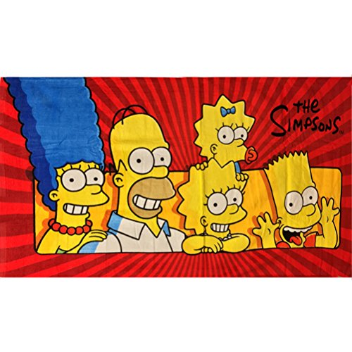 Strandtuch The Simpsons Family