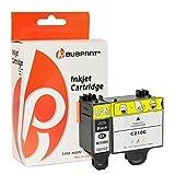 Bubprint 2 Druckerpatronen kompatibel für Samsung INK-M210 INK-M215 INK-C210 INK M210 M215 C210 für CJX-1000 CJX-1050W CJX-2000FW Black/Color