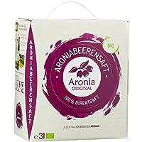 Aronia Original 100% Bio Aronia-Muttersaft im Monatspack, 1er Pack (1 x 3 l)