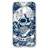 atFolix Samsung Galaxy S5 Mini Hülle - Blue Smile FX-Case Schutzhülle