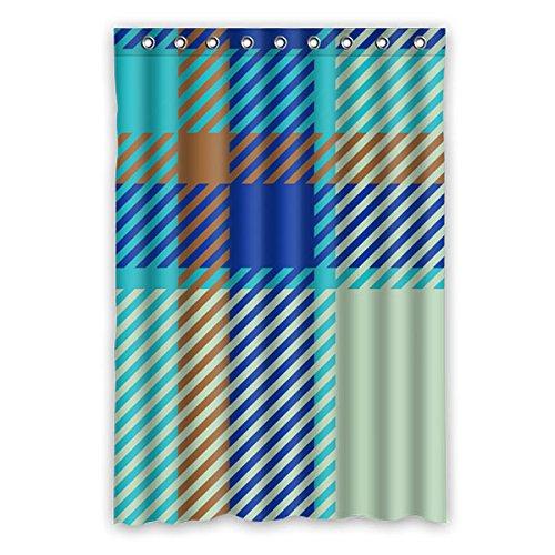 """120 cm x 183 cm (48 """"x72"""") Bagno Doccia Tenda, plaid ombreggiatura di sfondo Design, poliestere impermeabile Tessuto della tenda doccia"""
