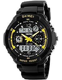 Digital Watches Watches Discreet Skmei Brand 50m Waterproof Digital Watch Men Outdoor Sports Compass Fashion Wrist Watch For Men Women Clock Relogio Masculino Beautiful In Colour