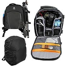 Profesional Multi funcional impermeable videocámara combinación bolsa a prueba de golpes SLR/DSLR cámara bolsa de almacenamiento, mochila para Fujifilm X100T & X20y X70y XE2y XQ2