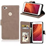 sinogoods For Xiaomi Redmi Note 5A Prime Case, Luxury Flip