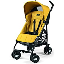 Peg Perego Pliko Mini Umbrella Strollers, Mod Yellow by Peg Perego