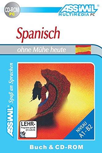 Preisvergleich Produktbild Spanisch ohne Mühe heute. Multimedia-PC. Lehrbuch + CD-ROM
